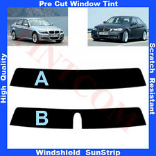 Pre Cut Sunstrip for BMW 3 Series E90 Saloon 4 Doors 2005-2012 Any Shade