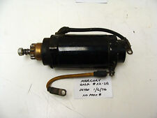 Mercury Outboard Starter No Visible Part Number Used