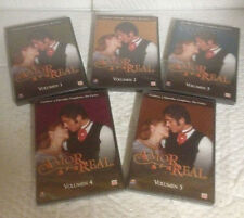 Amor Real, Volumes 1, 2, 3, 4, and 5. Time/Life DVD 2005, 25 Episodes on 5 Discs
