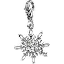 HOT DIAMONDS DT215 Winter Wonderland Silver Charm RRP: £39.95