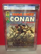 CGC 9.0 Savage Sword Of Conan #1 1st Blackmark Comic Book Vallejo Cover
