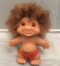 "Original Vintage Thomas DAM Troll Doll. Made In Denmark Stamped on Back,3"" RARE"