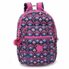 Genuine Kipling Seoul Large Backpack With Laptop Protection, Monkey Yr