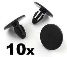 10x Renault Plastic Clips, Bonnet Insulation Fasteners, Shields and Trim Panels