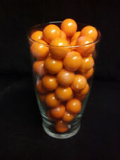 "Dubble Bubble Orange Flavored 1"" Gumballs  2  Lbs"
