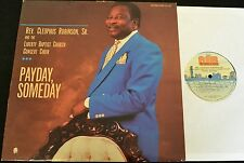 BLACK GOSPEL LP Cleophus Robinson Sr. and the Liberty Baptist Church Concert LP