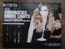NEW Redken Chromatics Ombre Lights Collection Hair Color Shade Chart