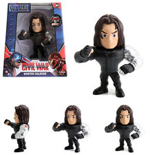 "Jada 4"" Captain America Civil War Action Figure 97764 Winter Soldier"