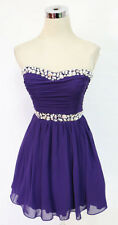 WINDSOR Purple Homecoming Dance Party Prom Dress 5 - $80 NWT