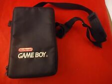 OFFICIAL Original Nintendo Game Boy Black Travel Bag Carrier Case Storage