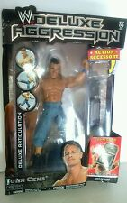 Deluxe Aggression John Cena action figure 2009 face print chair