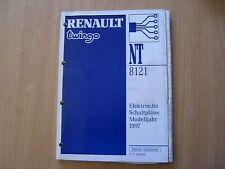 Manuale Officina Elettr. Schaltpläne Renault Twingo Modello Dell'anno 1997