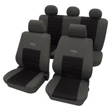 Sports Style Seat Cover Set - Toyota Celica Hatchback 1985-1990 - Grey & Black