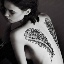 Temporary Tattoos Paper 3d Angel Wings Body Art Tattoo Sticker for Women Make up