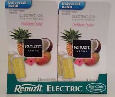 12 RENUZIT Caribbean Cooler ELECTRIC GEL PLUG IN REFILLS Fits Glade PlugIns