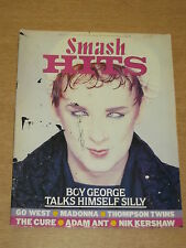 SMASH HITS JULY 31 - 13 AUGUST 1985 BOY GEORGE GO WEST MADONNA ADAM ANT THE CURE