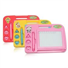 Children Kids Baby Magnetic Drawing Writing Board Sketch Pad Educational Toy
