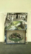 *#31 STAR TREK STARSHIPS COLLECTION ROMULAN WARBIRD VALDORE ENTERPRISE WARS