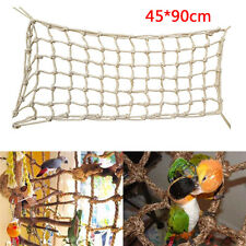 New Parrot Birds Large Rope Net Swing Ladder Chew Toy Parakeet Climbing Play Gym