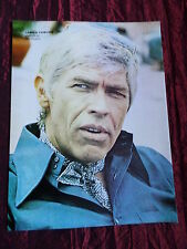 """JAMES COBURN - FILM STAR - """" 1 PAGE  PICTURE """" - CLIPPING/CUTTING"""