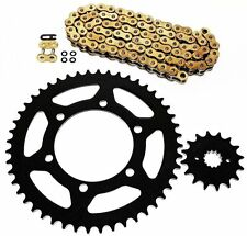 1988-2012 Kawasaki EX250 Ninja 250R GOLD O Ring Chain and Sprocket 14/45 106L