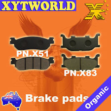 Front Rear Brake Pads Yamaha YP250 YP 250 Majesty 98-03
