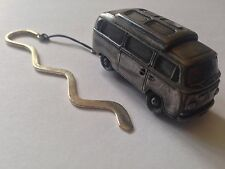 VW Type 2 Camper W/ Elevating Roof ref297 FULL CAR on Curved bookmark W/ cord
