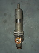 """1 x 1"""" ANDERSON GREENWOOD SS SAFETY RELIEF VALVE, #30S1216-G/SP, SET @ 22 PSIG"""