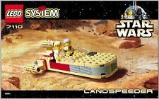 (Instructions) for LEGO 7110 - Star Wars: Landspeeder - INSTRUCTION MANUAL