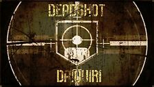 Nazi zombies Deadshot Perk cola Mini A4 Poster Black Ops Call of Duty