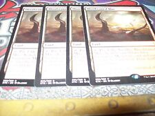 4x Bloodstained Mire MTG Khans of Tarkir Magic The Gathering Cards Free shipping