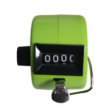 The Win Hand Held Tally Digit Mechanical Clicker Counter Green