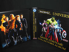 Custom Made Marvel Universe Movie Costume Trading Card Binder Graphics Only