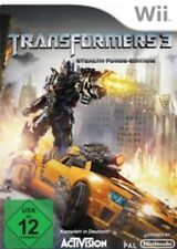 Nintendo Wii Transformers 3 Stealth Force Edition  Deutsch Neuwertig