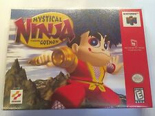 Mystical Ninja Starring Goemon - Nintendo 64 - Replacement Case - No Game