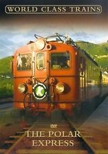 The Polar Express - World Class Trains Robert Garofalo, Beardsall NEW UK R2 DVD
