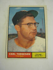 1961 Topps #152 Earl Torgeson Baseball Card, Good Cond (GS2-b7)