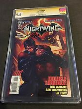 DC Comics New 52 Nightwing 4 CGC SS 9.6 Signed by Eddy Barrows Limited Print Run
