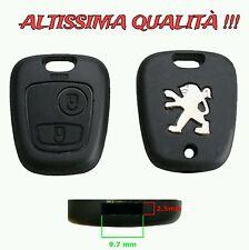 Cover Guscio Per Chiave Peugeot 307 406 206 106 207 107 Telecomando Caso Key New