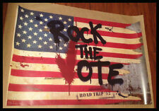 MR BRAINWASH ROCK THE VOTE ROAD TRIP 12 LITHOGRAPH POSTER PRINT VERY RARE! L@@K!
