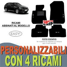 TAPPETINI AUTO SU MISURA PER BMW X1 IN MOQUETTE E FONDO IN GOMMA + 4 RICAMI EASY