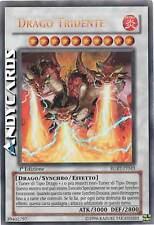 NM ☻ Drago Tridente ☻ Ultra Rara ☻ RGBT IT043 ☻ YUGIOH ANDYCARDS