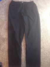 Sun Mountain Sports Cumulus Pants Black Large Rainwear Ked
