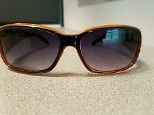 D&G Dolce & Gabbana 1758 SUNGLASSES BROWN VERY GOOD CONDITION WOMEN'S