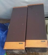 Vintage Pair Of Advent Prodigy Tower Speakers Work