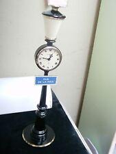 CIRCA 1960'S JAEGER LE COULTRE RUE DE LA PAIX 8 DAY LAMP POST CLOCK `