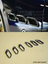 NEW 08-14 Carbon Fiber Side Vent Cover for Maserati Gran Turismo Coupe