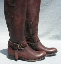 FRYE 'Melissa Knotted' Tall Boot Size 7 Brown  MSRP  $398