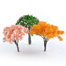 3 Garden Decoration Bonsai Sakura Tree Miniature Plant Pots Fairy Ornament DIY