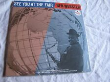 Sealed Ben Webster See You at the Fair Analogue 45 RPM 2 LP Impulse numbered
